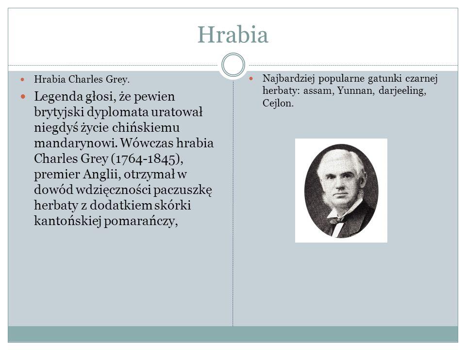 Hrabia Hrabia Charles Grey.