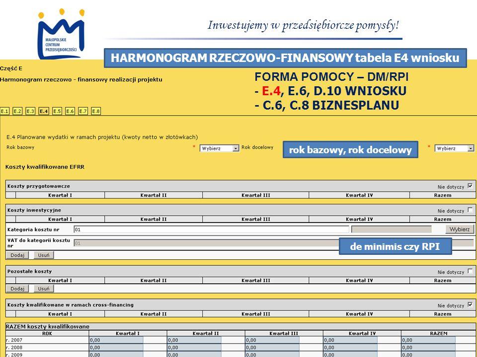 www.mcp.malopolska.pl Inwestujemy w przedsiębiorcze pomysły.