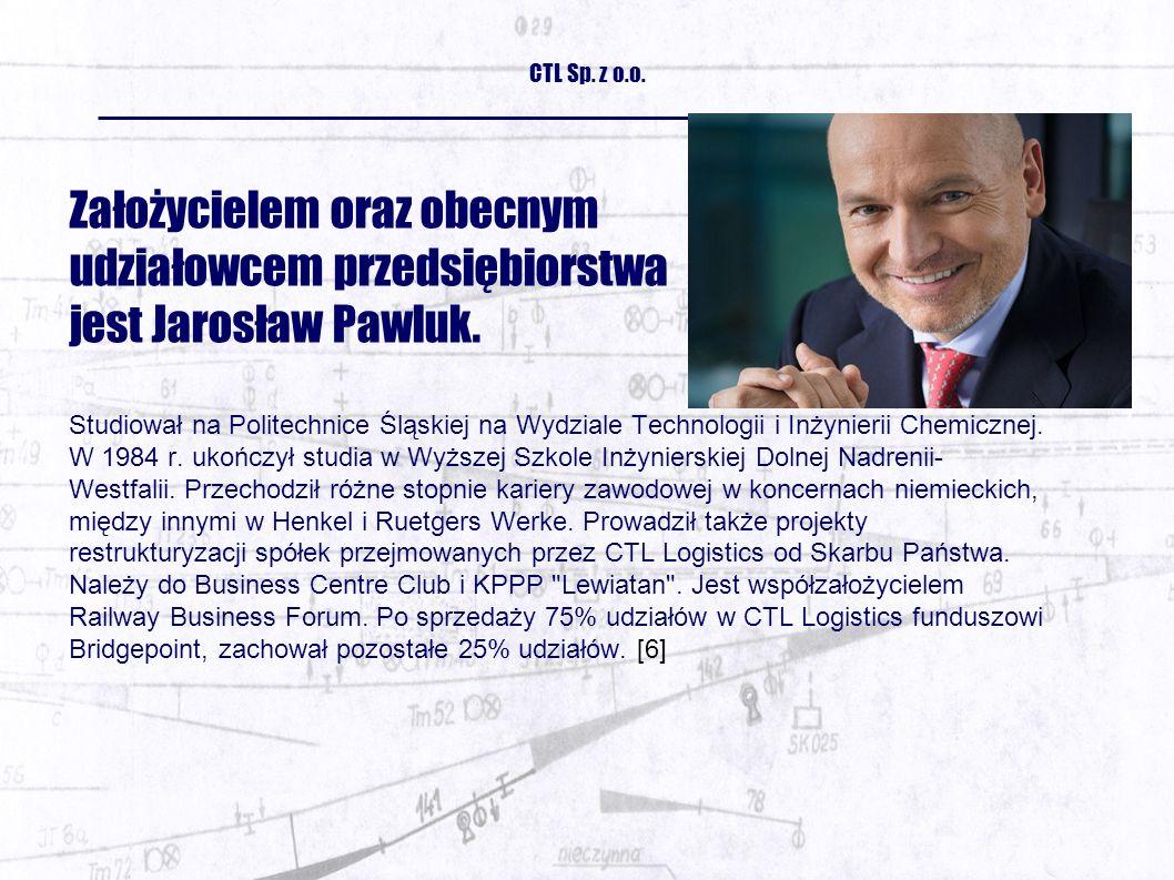 Założycielem oraz obecnym udziałowcem przedsiębiorstwa jest Jarosław Pawluk.