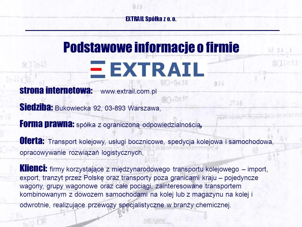 EXTRAIL Spółka z o. o.