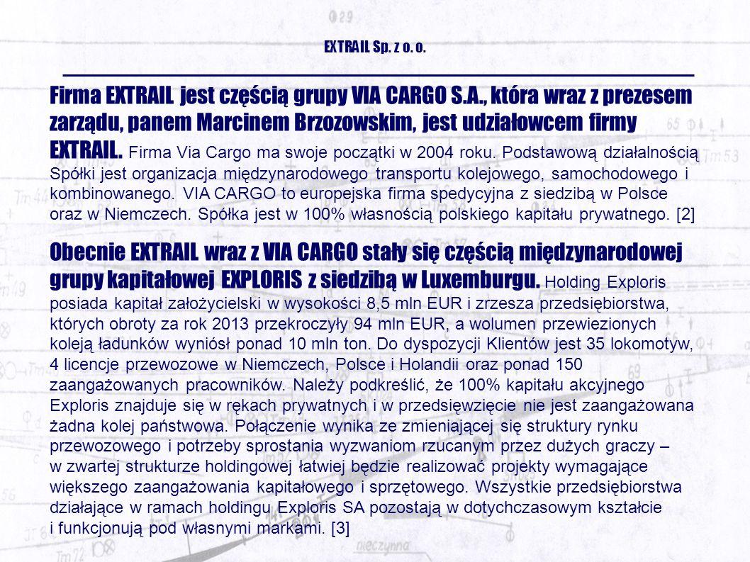 EXTRAIL Sp. z o. o.