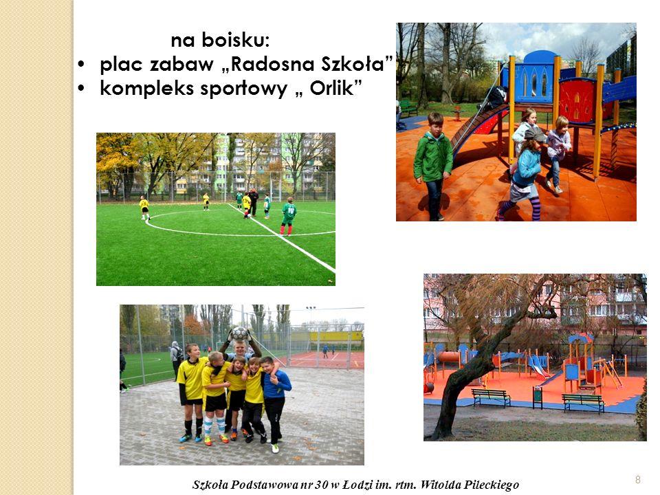 """8 na boisku: plac zabaw """"Radosna Szkoła kompleks sportowy """" Orlik"""