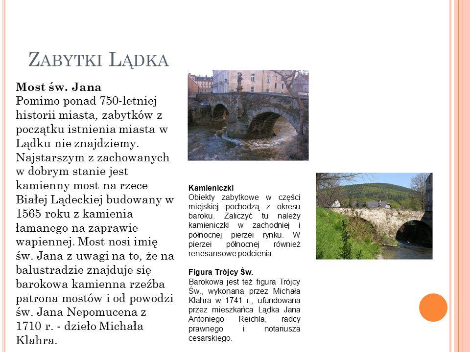 Z ABYTKI L ĄDKA Most św.