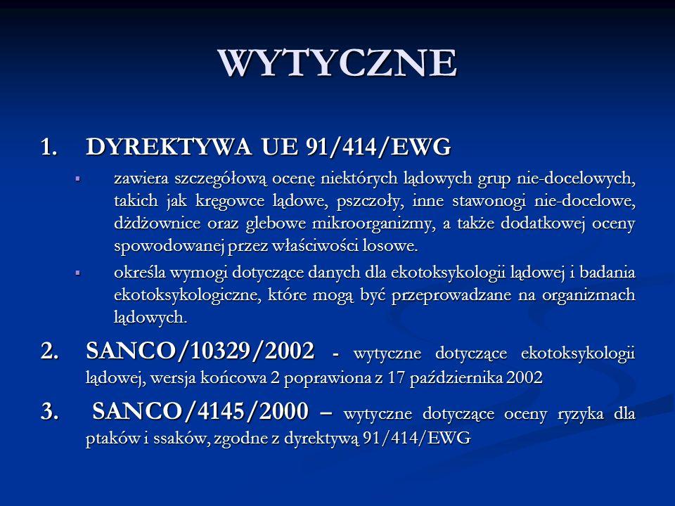 WYTYCZNE 4.