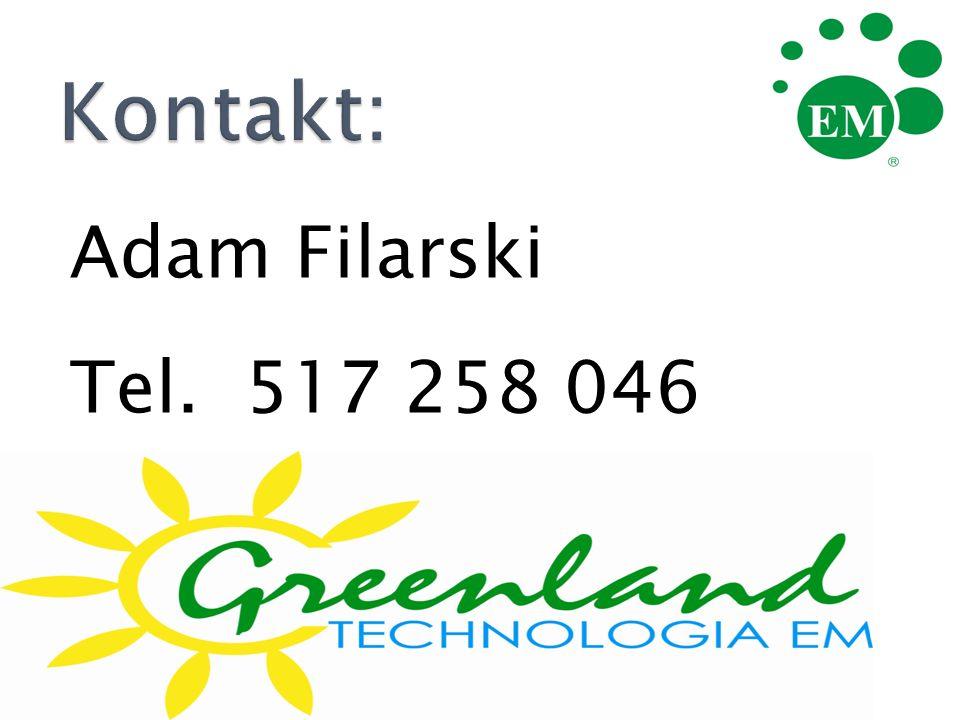 Adam Filarski Tel. 517 258 046