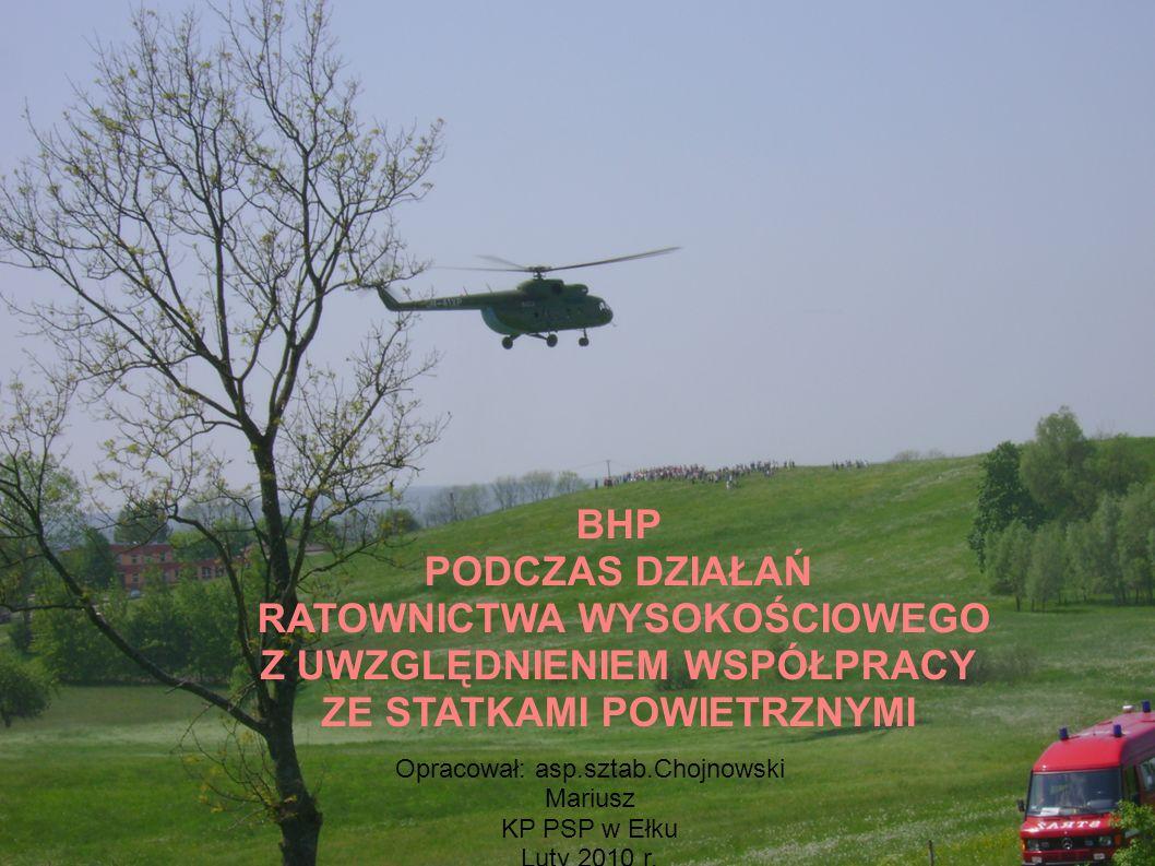 Kolejność desantu z pokładu śmigłowca Mi 2 i W-3 Sokół.