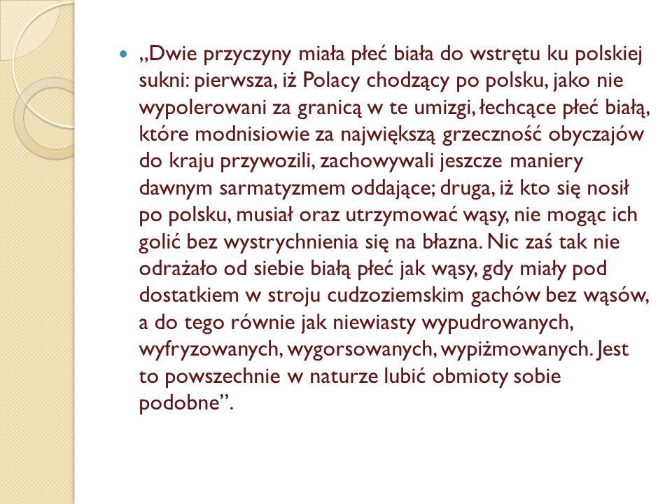 August III w stroju polskim i cudzoziemskim