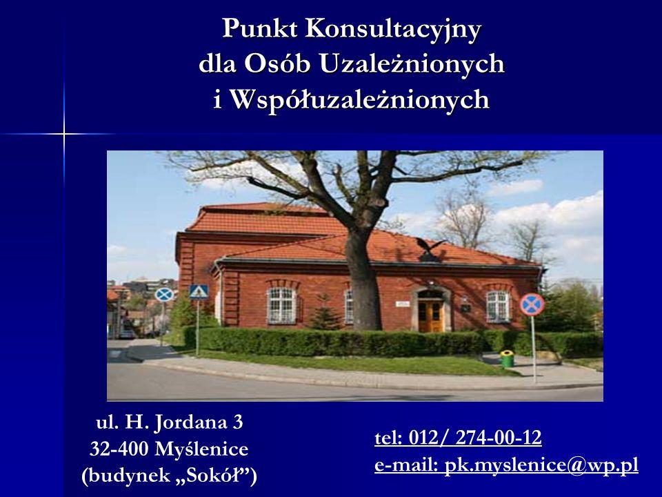 Punkt Konsultacyjny dla Osób Uzależnionych i Współuzależnionych ul.