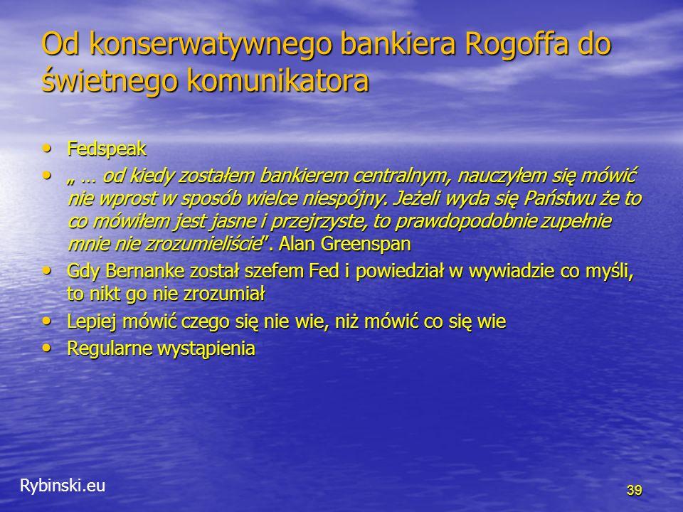 Rybinski.eu Co zmieni kryzys.