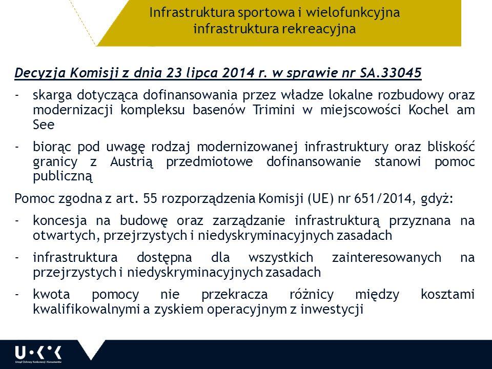 Decyzja Komisji z dnia 23 lipca 2014 r.