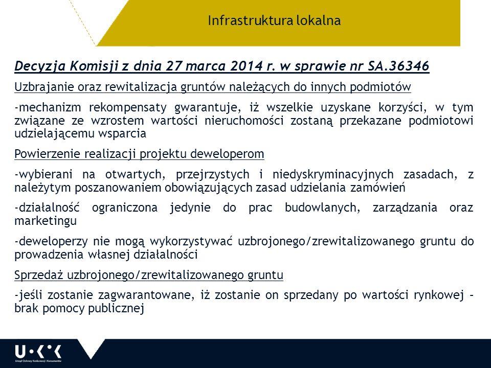 Decyzja Komisji z dnia 27 marca 2014 r.