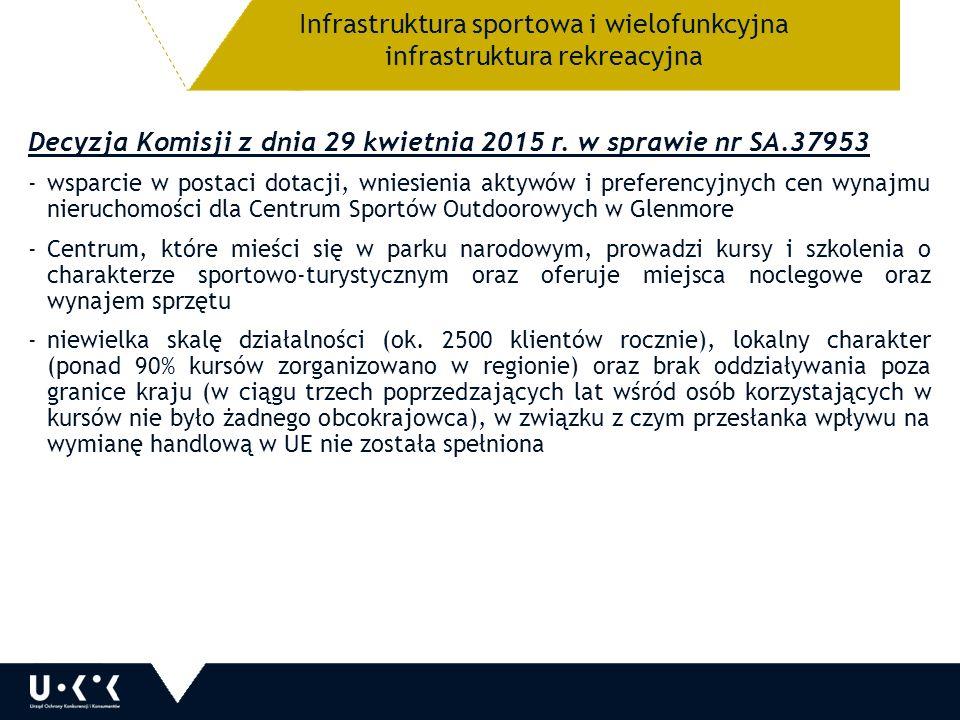 Decyzja Komisji z dnia 29 kwietnia 2015 r.