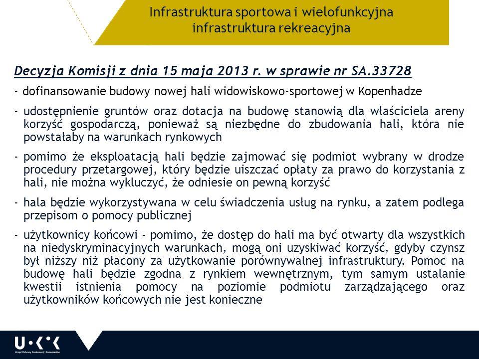Decyzja Komisji z dnia 15 maja 2013 r.