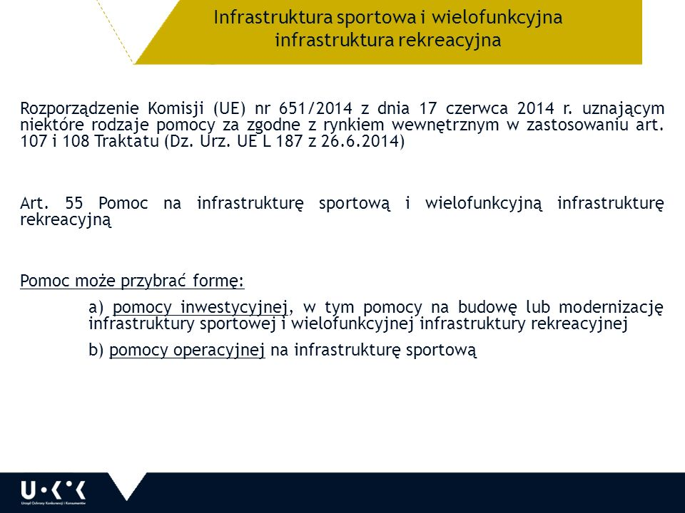 Rozporządzenie Komisji (UE) nr 651/2014 z dnia 17 czerwca 2014 r.