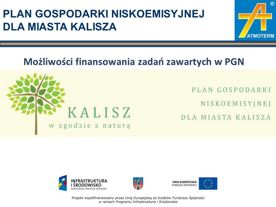 Linie finansowania 1.Program Operacyjny Infrastruktura i Środowisko 2014-2020 2.