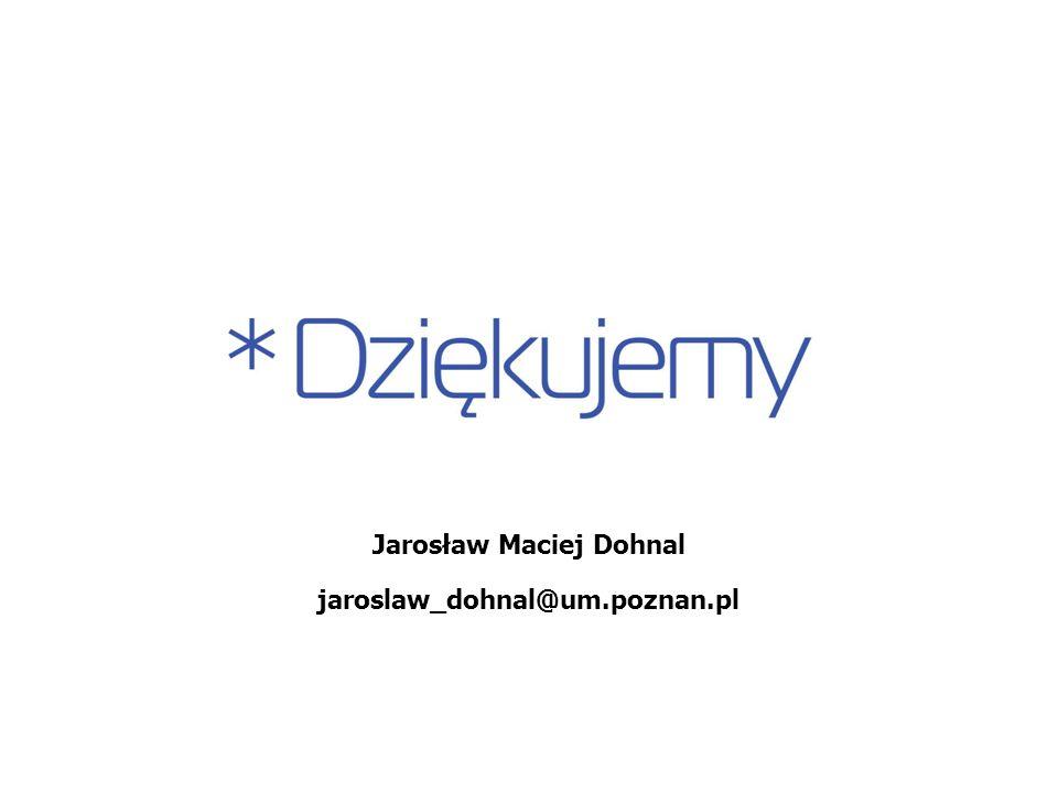 Jarosław Maciej Dohnal jaroslaw_dohnal@um.poznan.pl