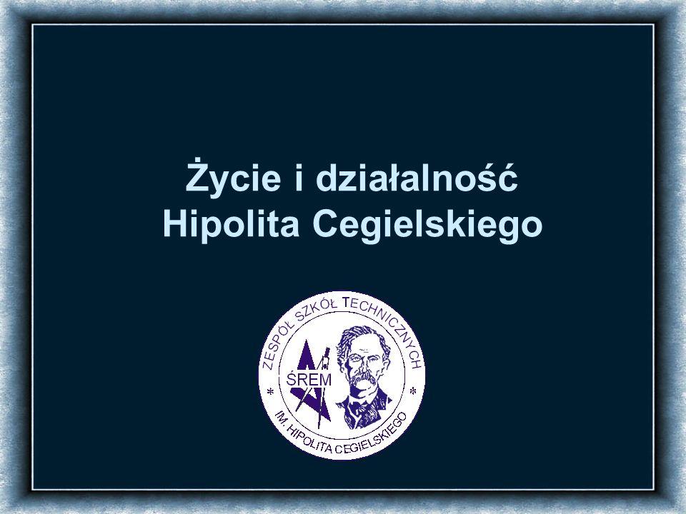 Gaspar Józef Hipolit Cegielski urodził się 6 stycznia 1813 roku w Ławkach pod Powidzem w rodzinie ziemiańskiej, jako jedno z sześciorga dzieci Józefy i Michała Cegielskich Narodziny Dom w Ławkach, w którym urodził się H.