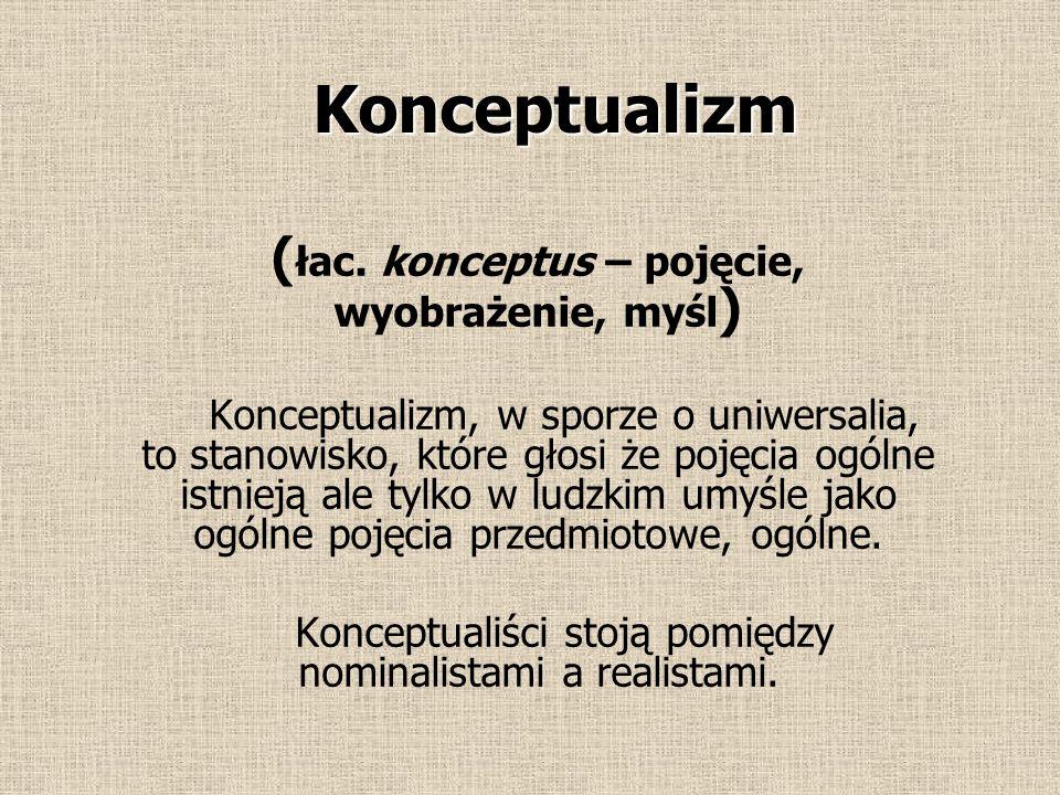 Immaterializm Materia (przeciwstawiona umysłowi) nie istnieje.