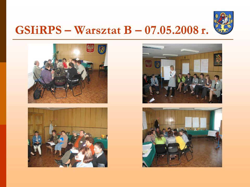 GSIiRPS – Warsztat B – 07.05.2008 r.