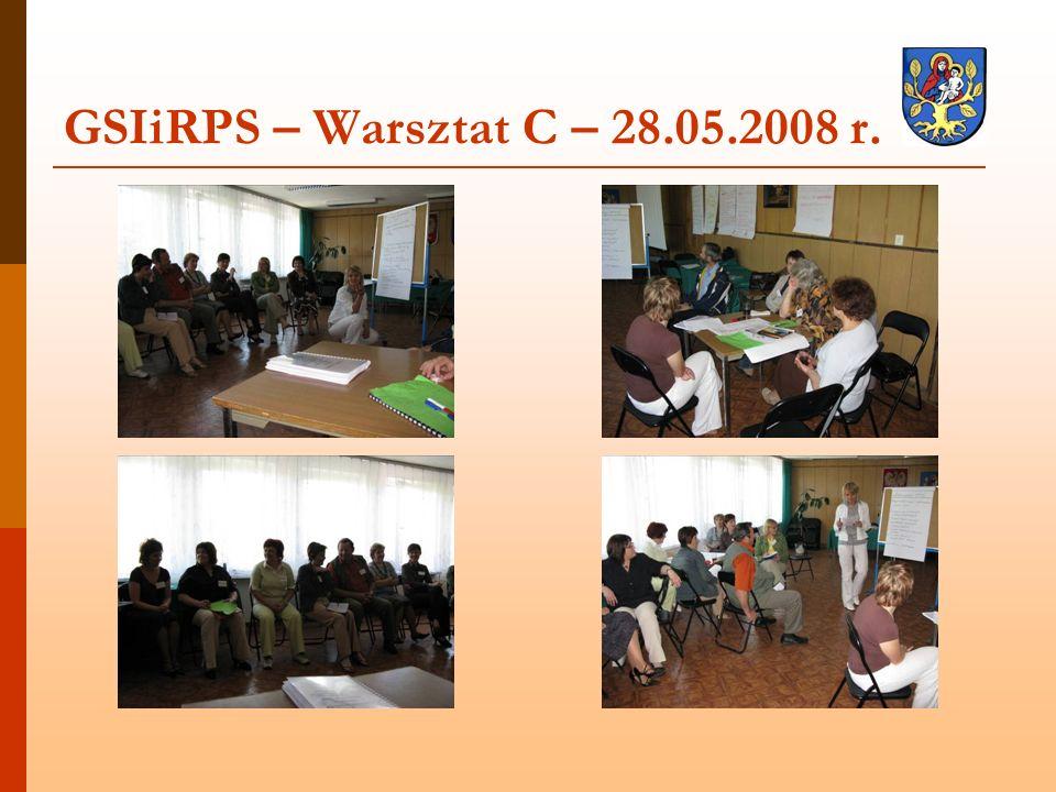 GSIiRPS – Warsztat C – 28.05.2008 r.