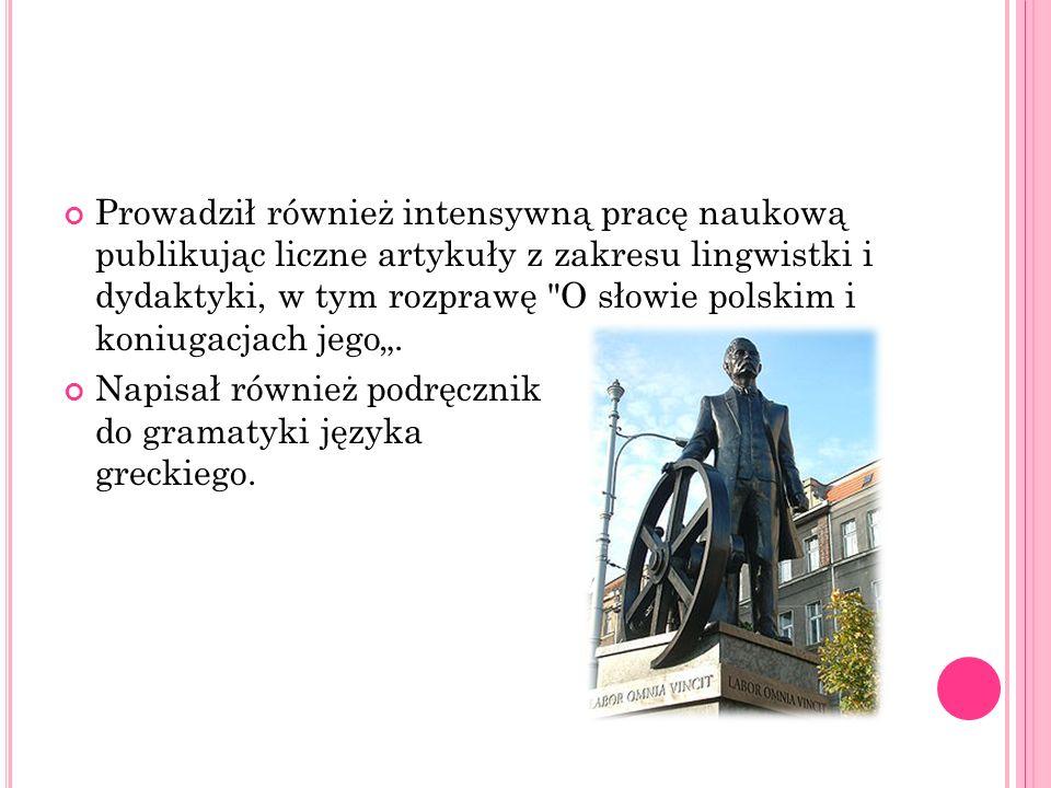 Hipolit Cegielski założył w Poznaniu fabrykę narzędzi i maszyn rolniczych.
