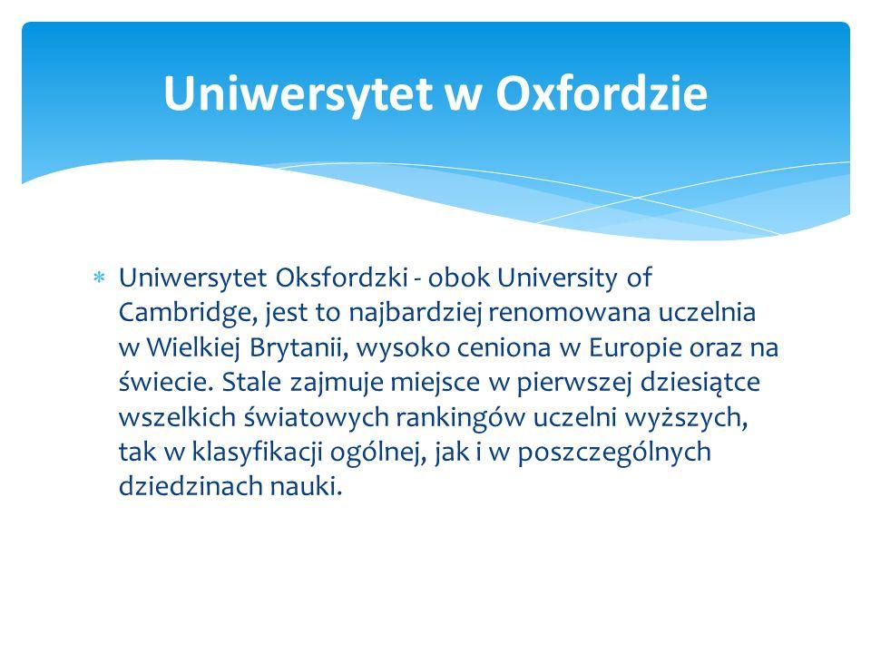 Ranking najlepszych uniwersytetów