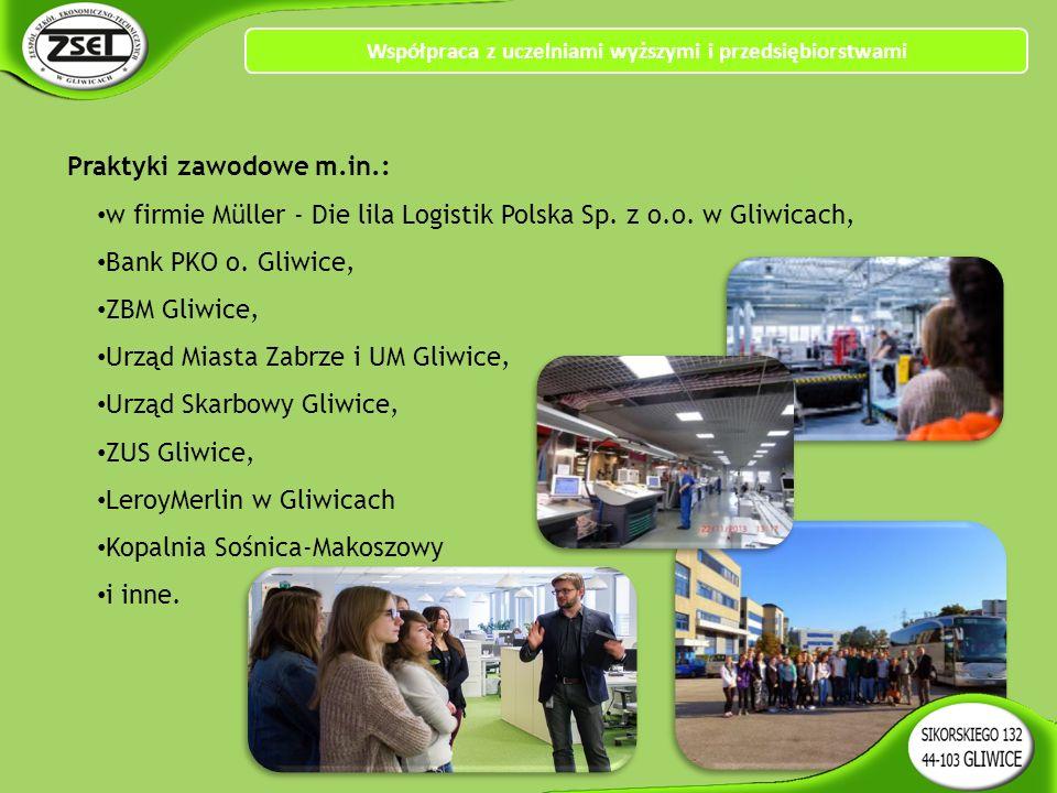 Praktyki zawodowe m.in.: w firmie Müller - Die lila Logistik Polska Sp.