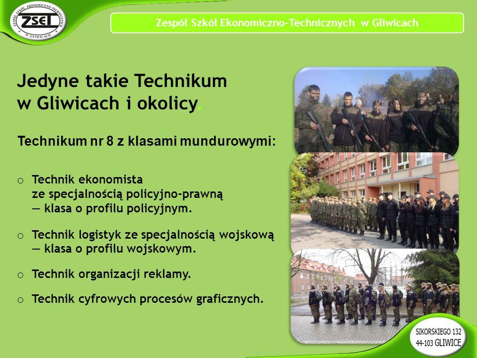 Jedyne takie Technikum w Gliwicach i okolicy.