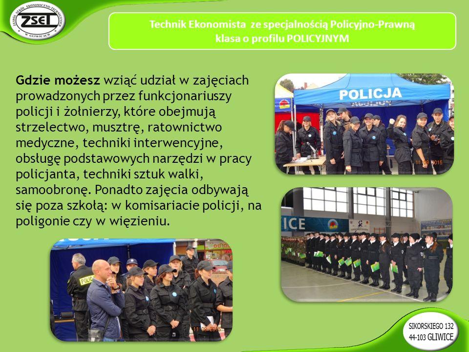 Gdzie możesz wziąć udział w zajęciach prowadzonych przez funkcjonariuszy policji i żołnierzy, które obejmują strzelectwo, musztrę, ratownictwo medyczne, techniki interwencyjne, obsługę podstawowych narzędzi w pracy policjanta, techniki sztuk walki, samoobronę.