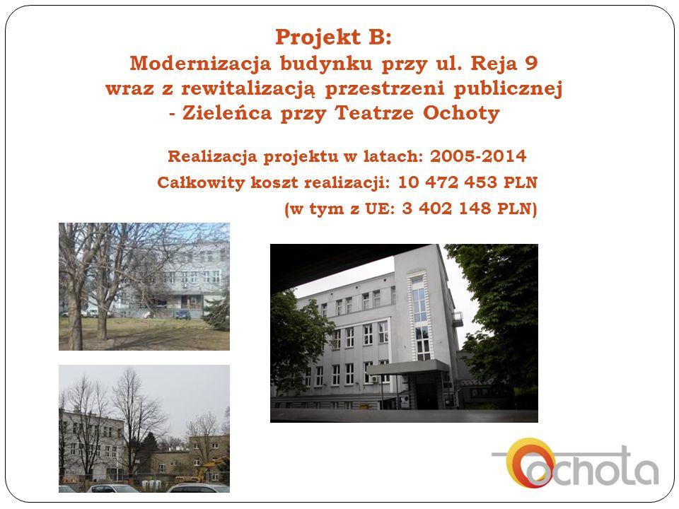 Projekt B: Modernizacja budynku przy ul.