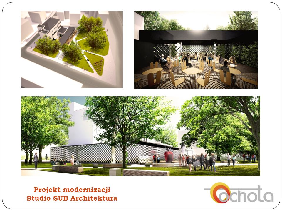 Projekt modernizacji Studio SUB Architektura