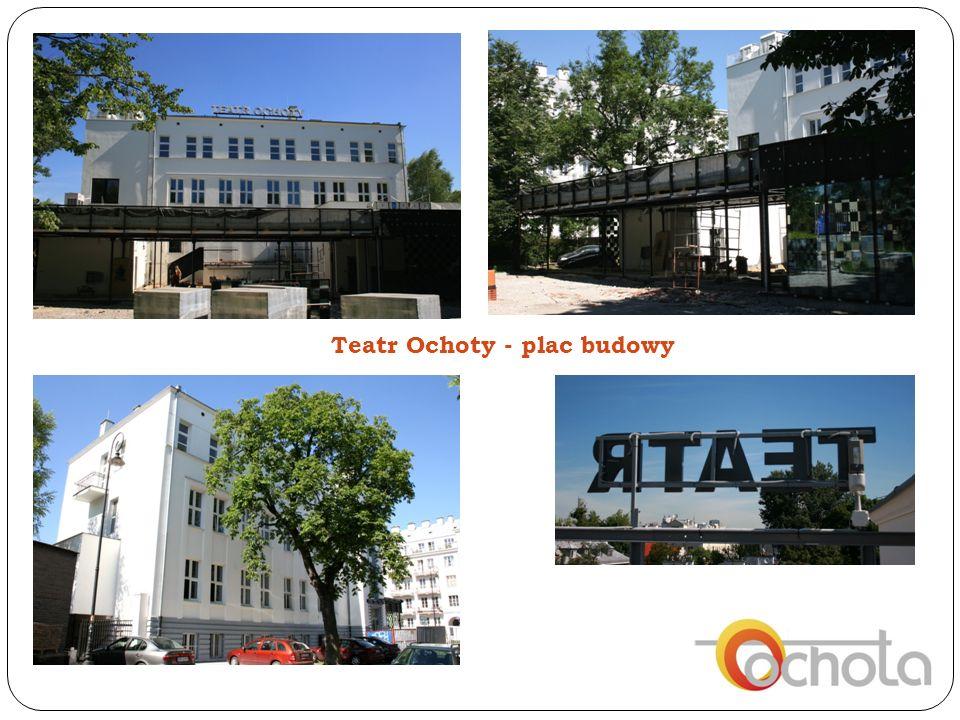 Teatr Ochoty - plac budowy