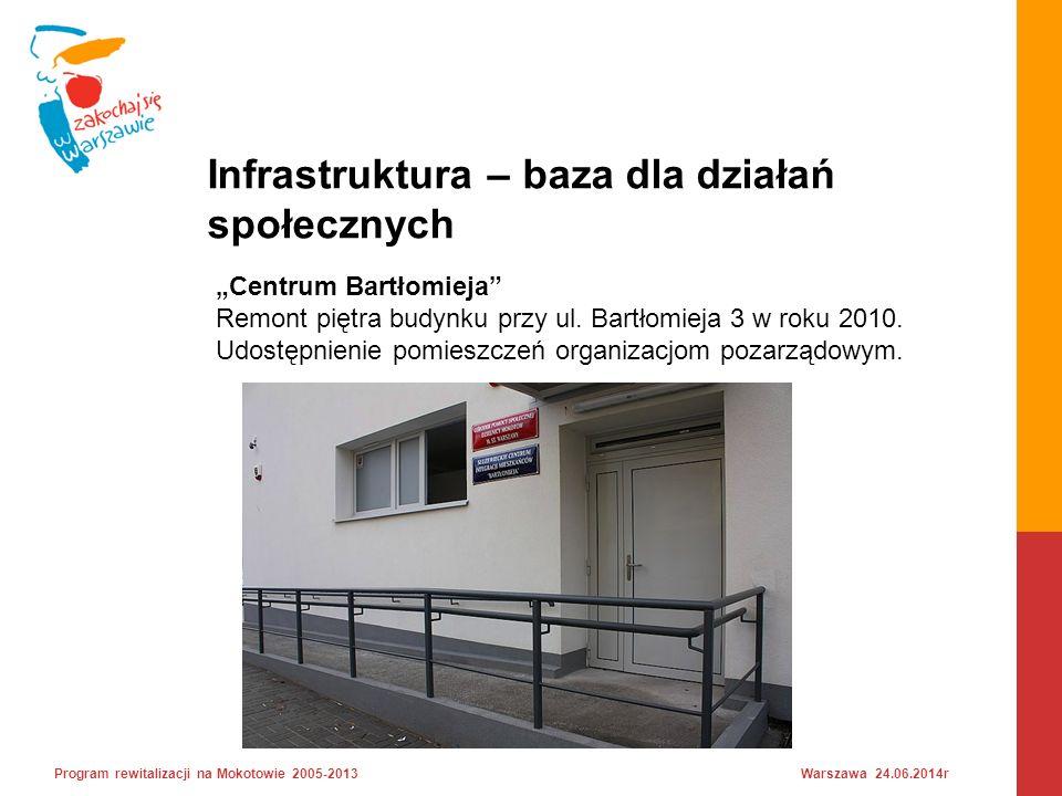 """""""Centrum Bartłomieja Remont piętra budynku przy ul."""