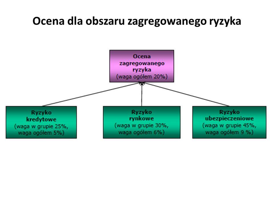 Ocena dla obszaru zagregowanego ryzyka