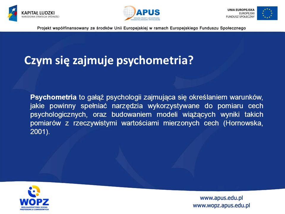 Wprowadzenie do psychometrii