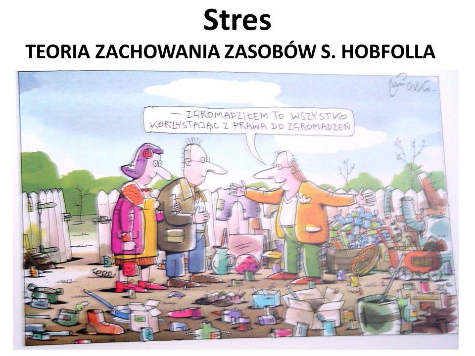 TEORIA ZACHOWANIA ZASOBÓW S. HOBFOLLA Stres