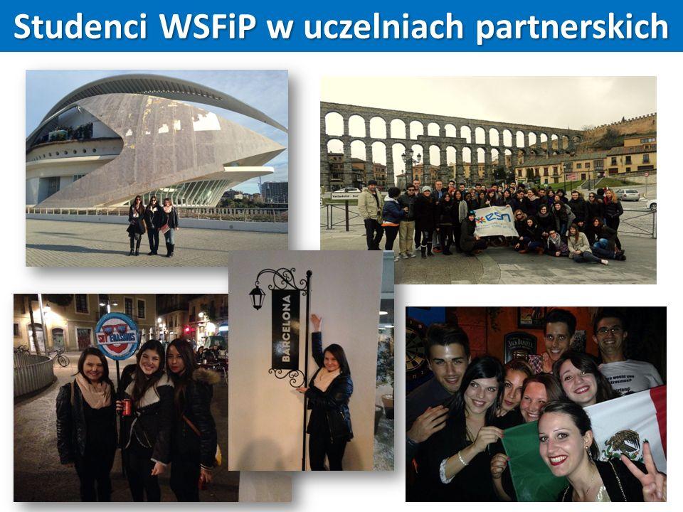 Studenci WSFiP w uczelniach partnerskich