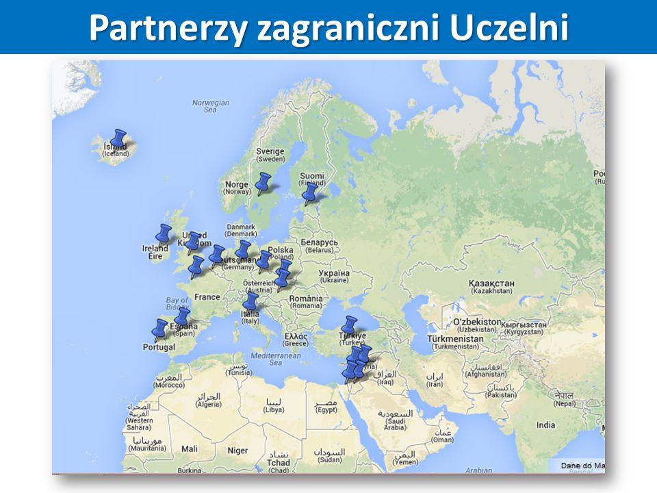 Partnerzy zagraniczni Uczelni