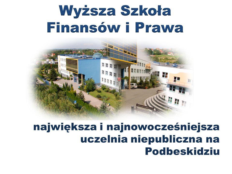 największa i najnowocześniejsza uczelnia niepubliczna na Podbeskidziu