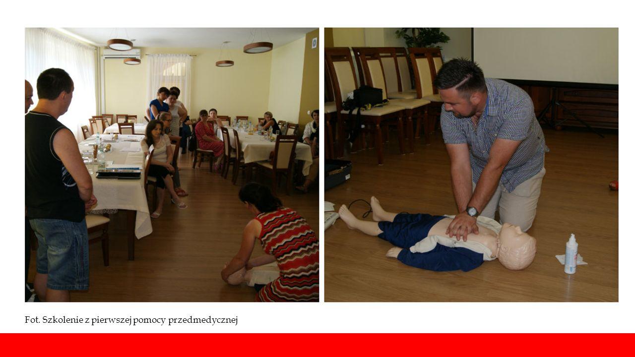 Fot. Szkolenie z pierwszej pomocy przedmedycznej