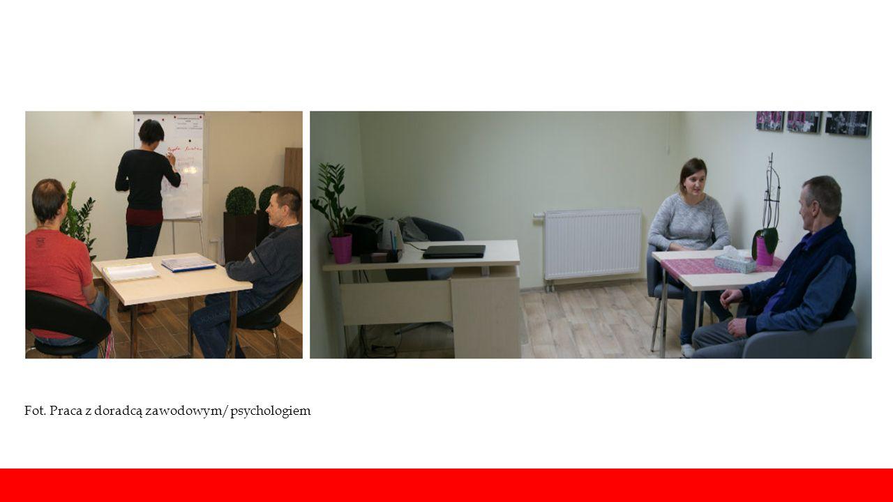 Fot. Praca z doradcą zawodowym/psychologiem