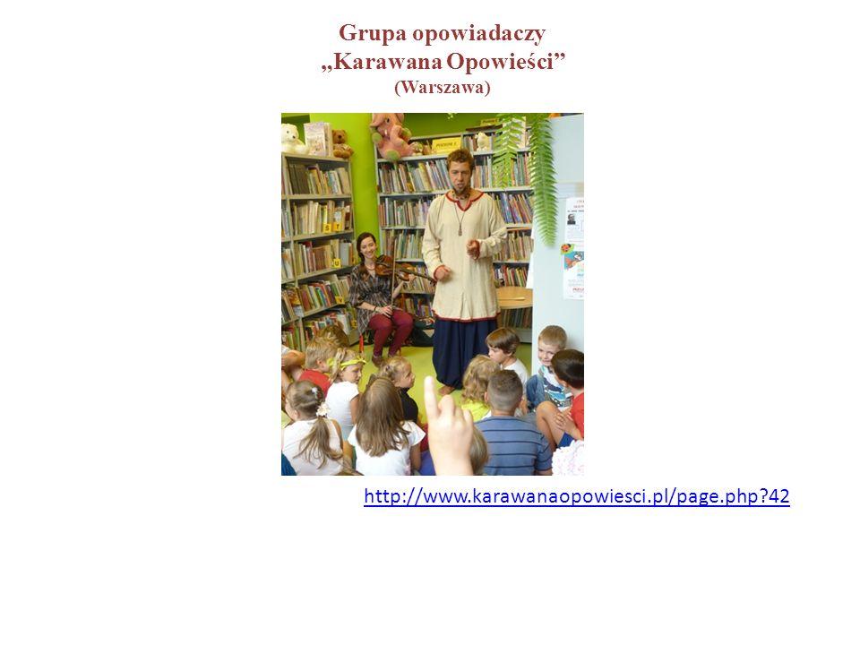"""http://www.karawanaopowiesci.pl/page.php?42 Grupa opowiadaczy """"Karawana Opowieści (Warszawa)"""