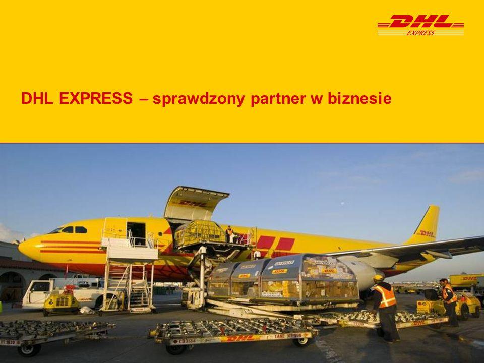 DHL Express – sprawdzony partner w biznesiePage22 Dziękujemy za uwagę