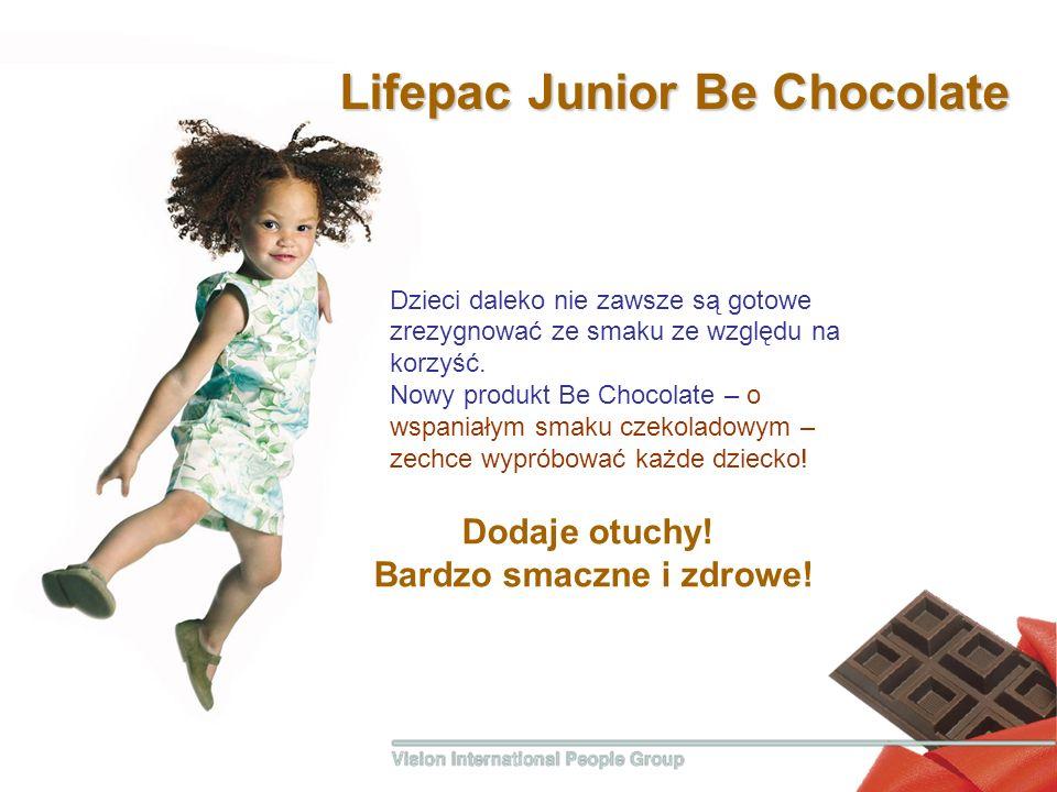 Dodaje otuchy! Bardzo smaczne i zdrowe! Lifepac Junior Вe Сhocolate Dzieci daleko nie zawsze są gotowe zrezygnować ze smaku ze względu na korzyść. Now
