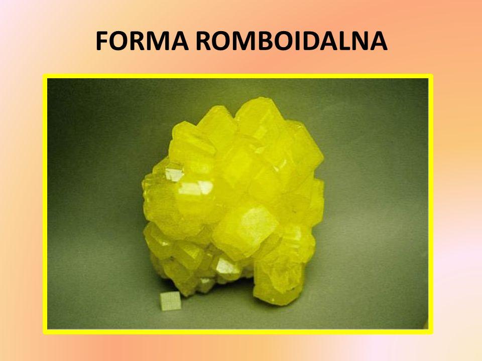FORMA ROMBOIDALNA
