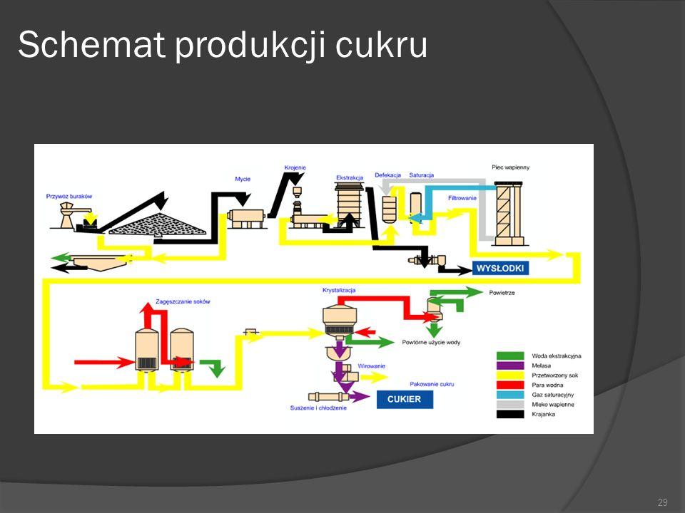 Schemat produkcji cukru 29