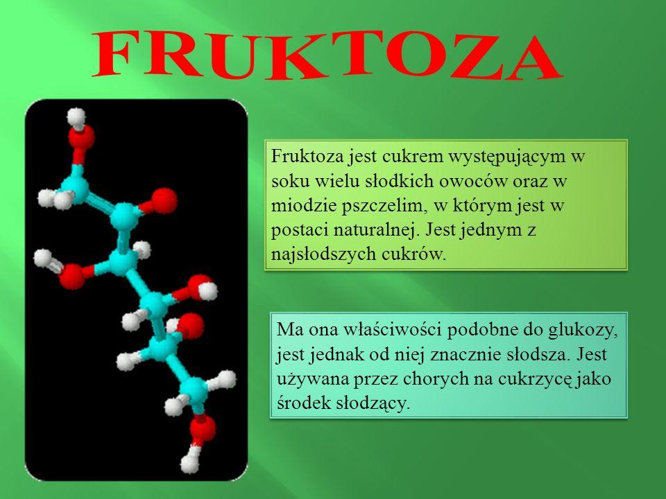 Fruktoza jest cukrem występującym w soku wielu słodkich owoców oraz w miodzie pszczelim, w którym jest w postaci naturalnej.