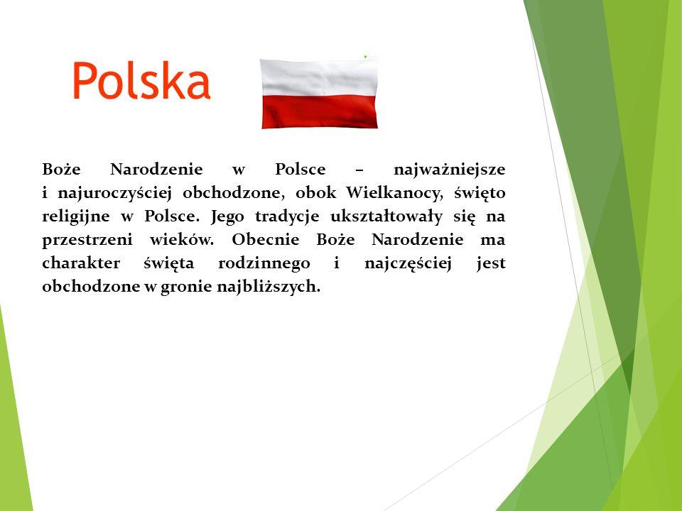 Polska Boże Narodzenie w Polsce – najważniejsze i najuroczyściej obchodzone, obok Wielkanocy, święto religijne w Polsce.