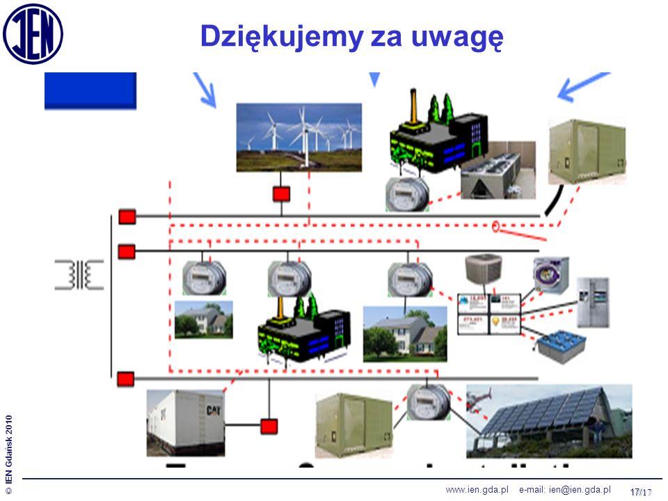 17/ 17 © IEN Gdańsk 2010 www.ien.gda.pl e-mail: ien@ien.gda.pl Dziękujemy za uwagę