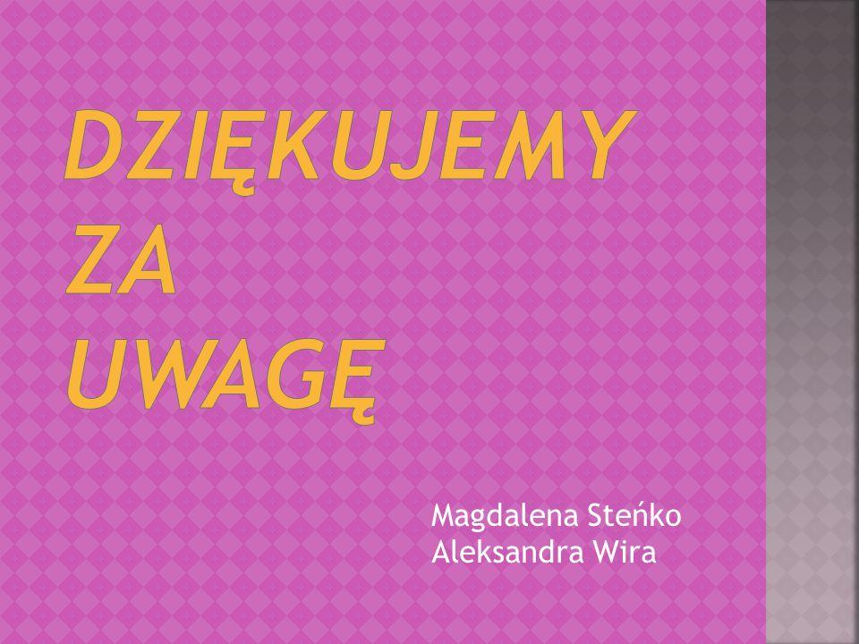 Magdalena Steńko Aleksandra Wira